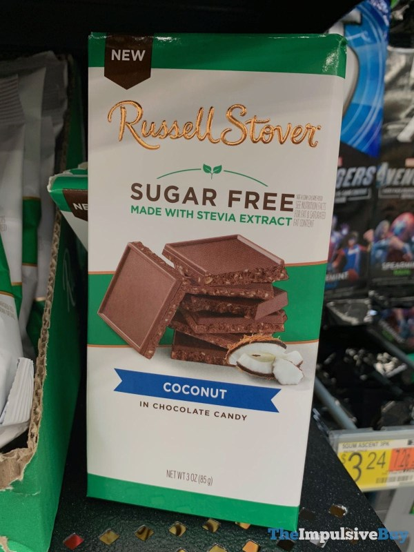 Russell Stover Sugar Free Coconut in Chocolate Candy