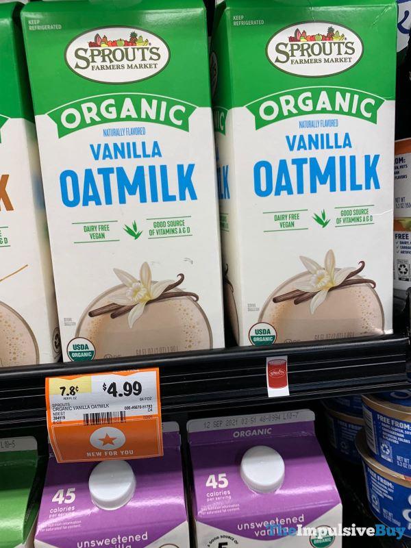 Sprouts Organic Vanilla Oatmilk