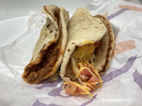 Taco Bell Flatbread Tacos Both