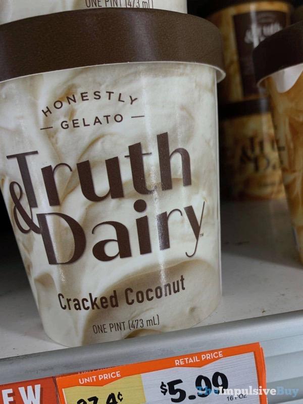 Truth  Dairy Cracked Coconut Gelato