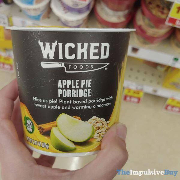 Wicked Foods Apple Pie Porridge