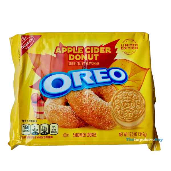 Limited Edition Apple Cider Donut Oreo Package