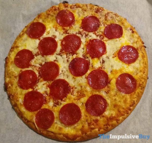 Chuck E Cheese Pepperoni Frozen Pizza Baked