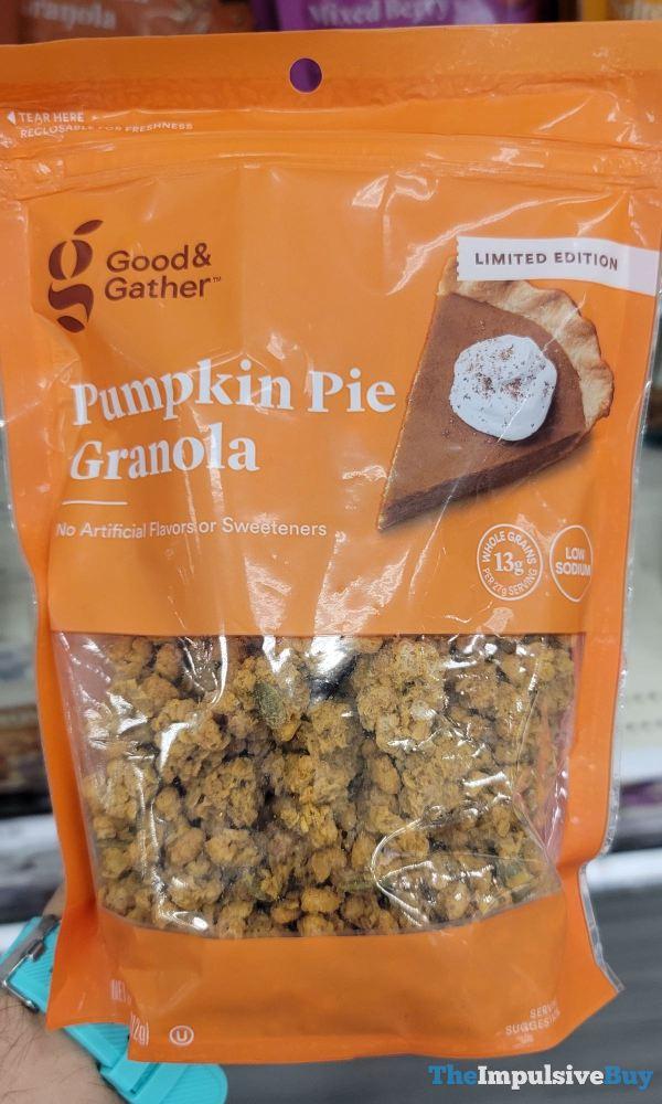 Good  Gather Limited Edition Pumpkin Pie Granola