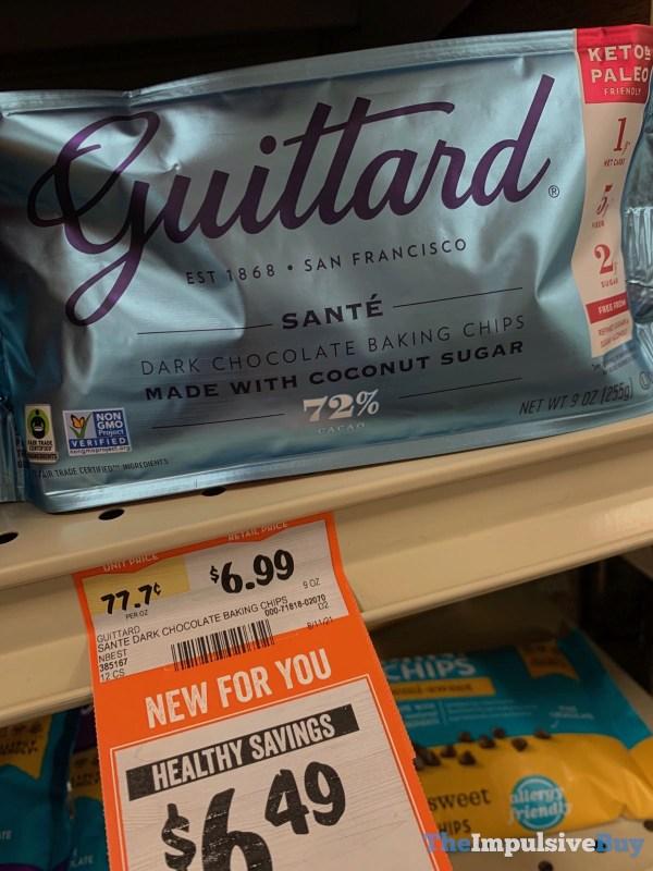 Guittard Sante Dark Chocolate Baking Chips