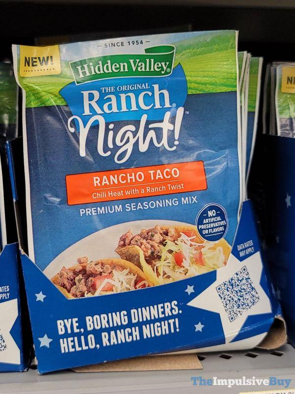 Hidden Valley Ranch Night Rancho Taco Seasoning