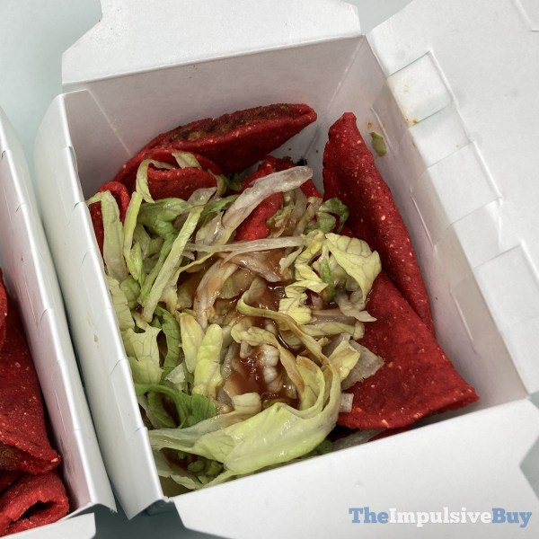 Jack in the Box Spicy Tiny Tacos Loaded