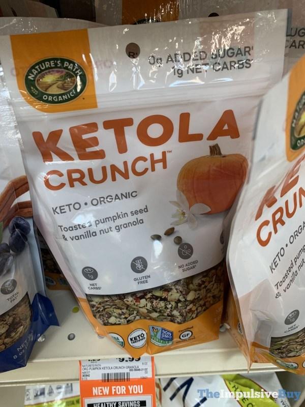 Nature s Path Ketola Crunch Toastee Pumpkin Seed  Vanilla Nut Granola