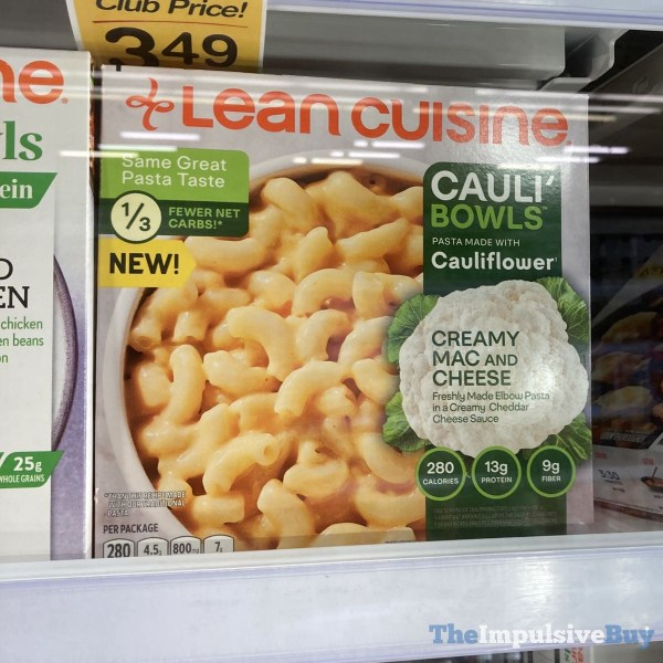 Lean Cuisine Creamy Mac and Cheese Cauli Bowls