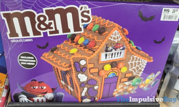 M M s Haunted House Chocolate Cookie Kit