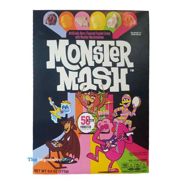 Monster Mash Cereal Box
