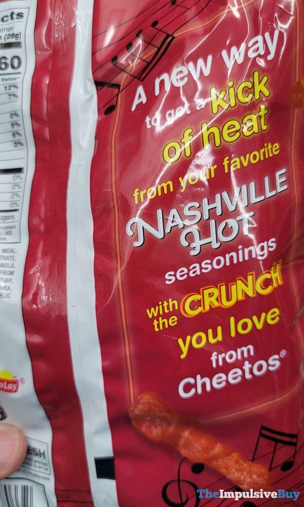 Nashville Hot Cheetos Crunchy Back