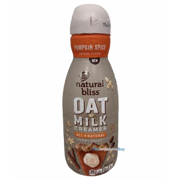 Nestle Coffee mate Natural Bliss Pumpkin Spice Oat Milk Creamer