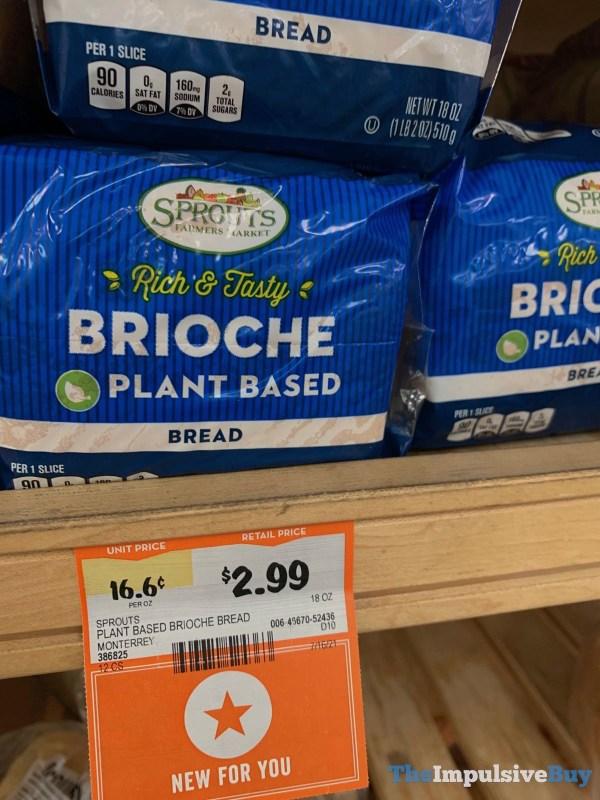Sprouts Plant Based Brioche