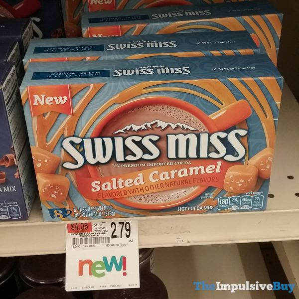 Swiss Miss Salted Caramel Hot Cocoa Mix