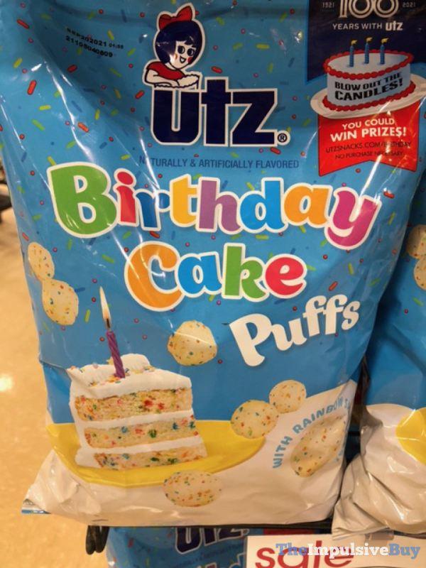 Utz Birthday Cake Puffs