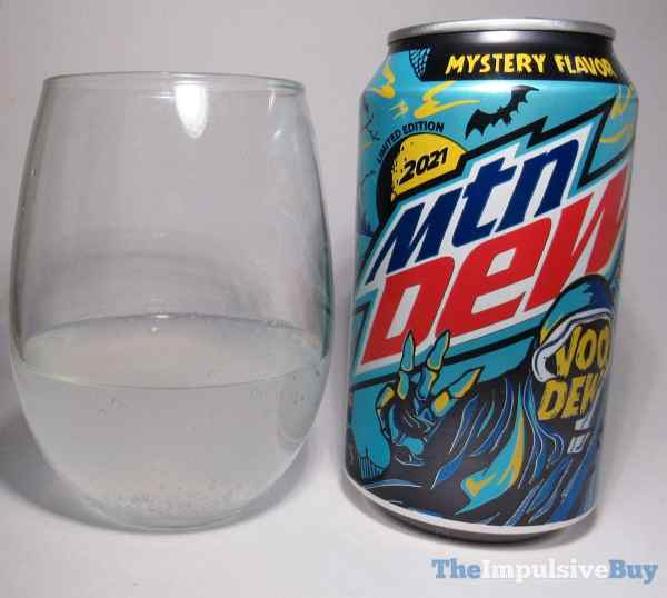 Limited Edition 2021 Mtn Dew VooDEW Glass