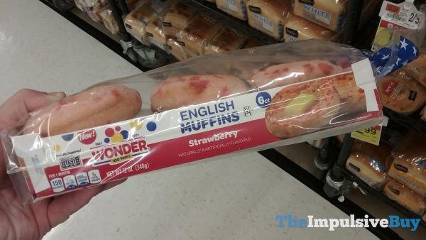 Wonder Strawberry English Muffins