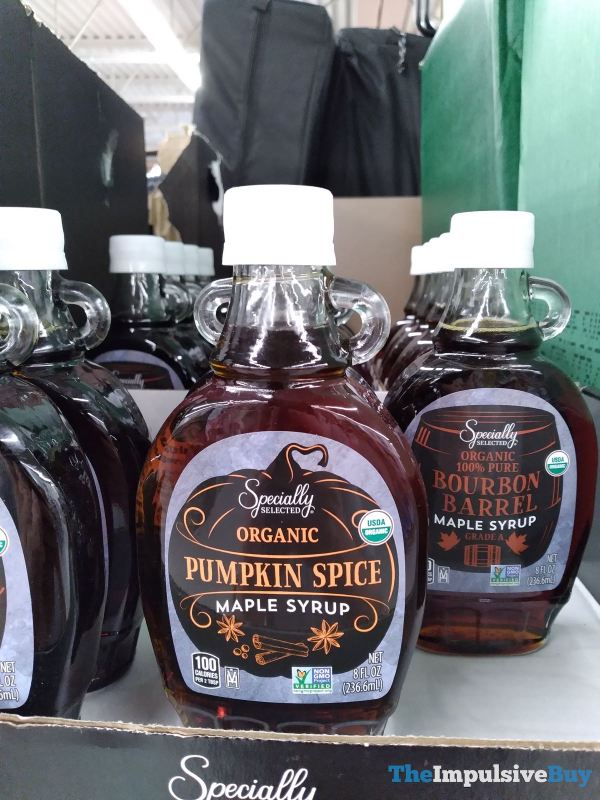 Specially Selected Organic Pumpkin Spice Maple Syrup
