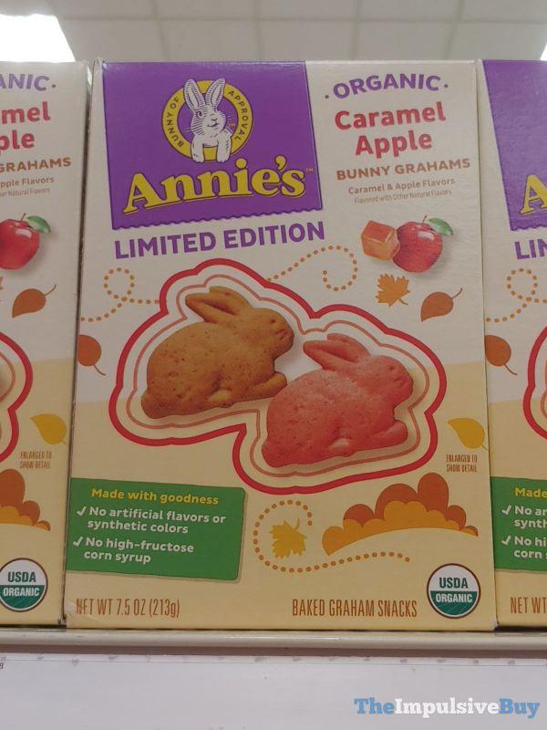 Annie s Limited Edition Organic Caramel Apple Bunny Grahams