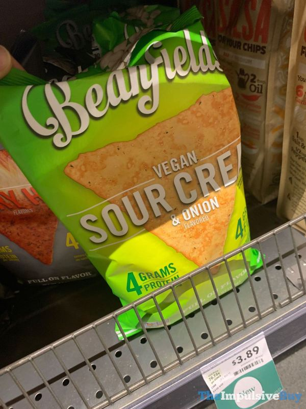 Beanfields Vegan Sour Cream  Onion