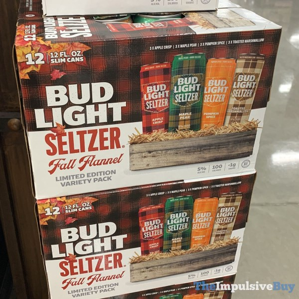 Bud Light Seltzer Fall Flannel Limited Edition Variety Pack