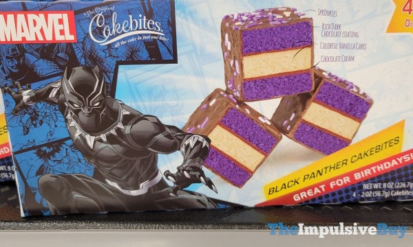 The Original Cakebites Black Panther Cakebites