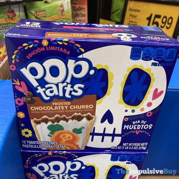 Edicio?n Limitada Dia De Muertos Frosted Chocolatey Churro Pop Tarts