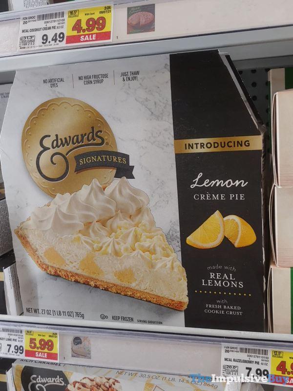 Edwards Signatures Lemon Creme Pie