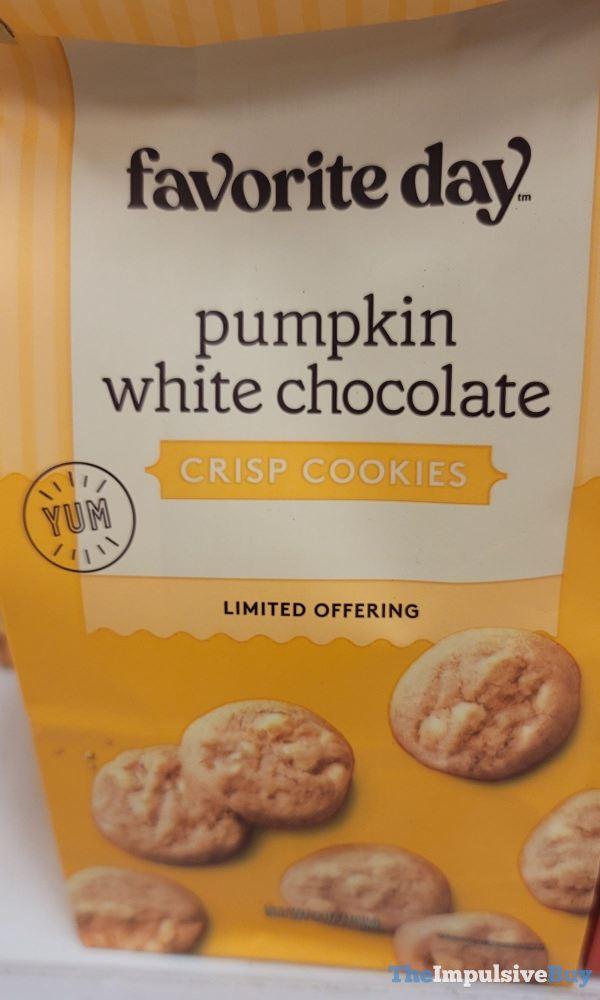 Favorite Day Pumpkin White Chocolate Crisp Cookies