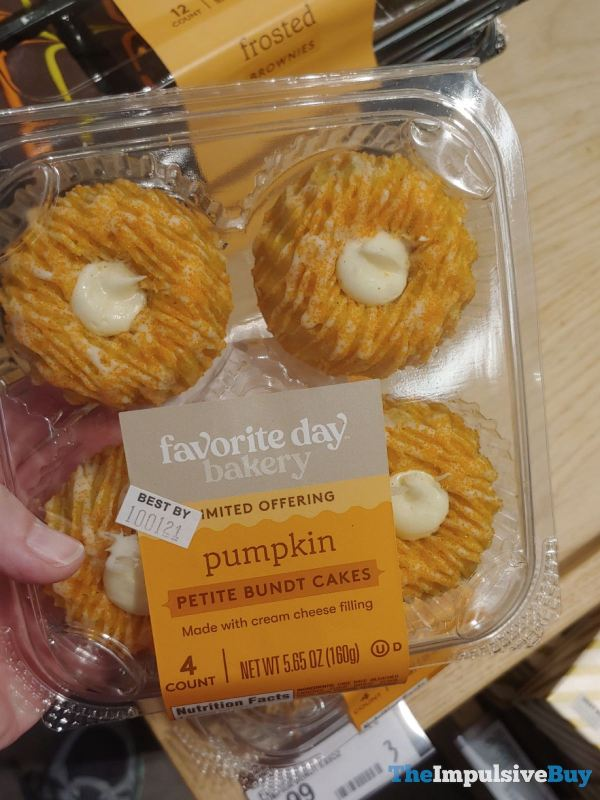Favorite Day Bakery Pumpkin Petite Bundt Cakes