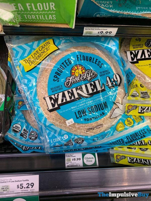 Food for Life Ezekiel 4 9 Low Sodium Tortillas