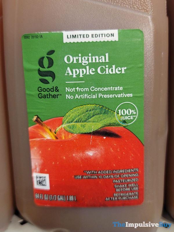 Good  Gather Limited Edition Original Apple Cider
