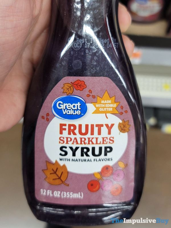 Great Value Fruity Sparkles Syrup