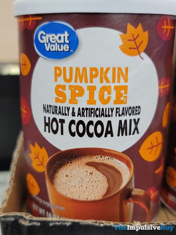 Great Value Pumpkin Spice Hot Cocoa Mix