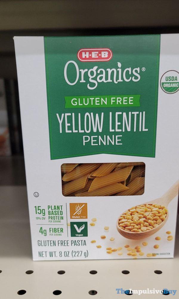 H E B Organics Gluten Free Yellow Lentil Penne