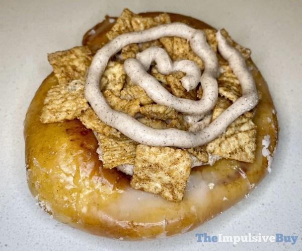 Krispy Kreme Cinnamon Toast Crunch Cinnamon Roll