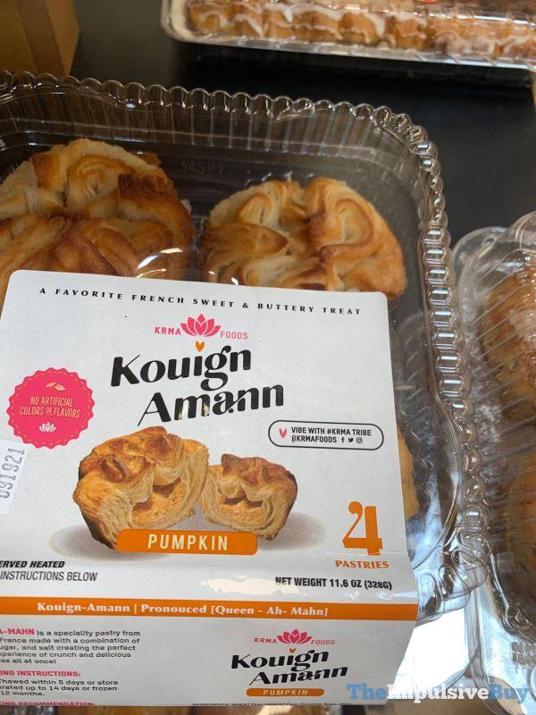 Krma Foods Pumpkin Kouign Amann