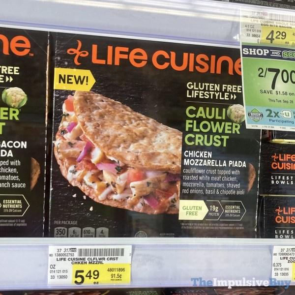 Life Cuisine Cauliflower Crust Chicken Mozzarella Piada