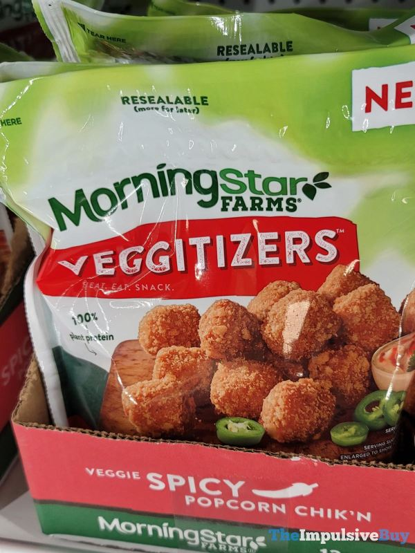 Morningstar Farms Veggitizers Veggie Spicy Popcorn Chik n