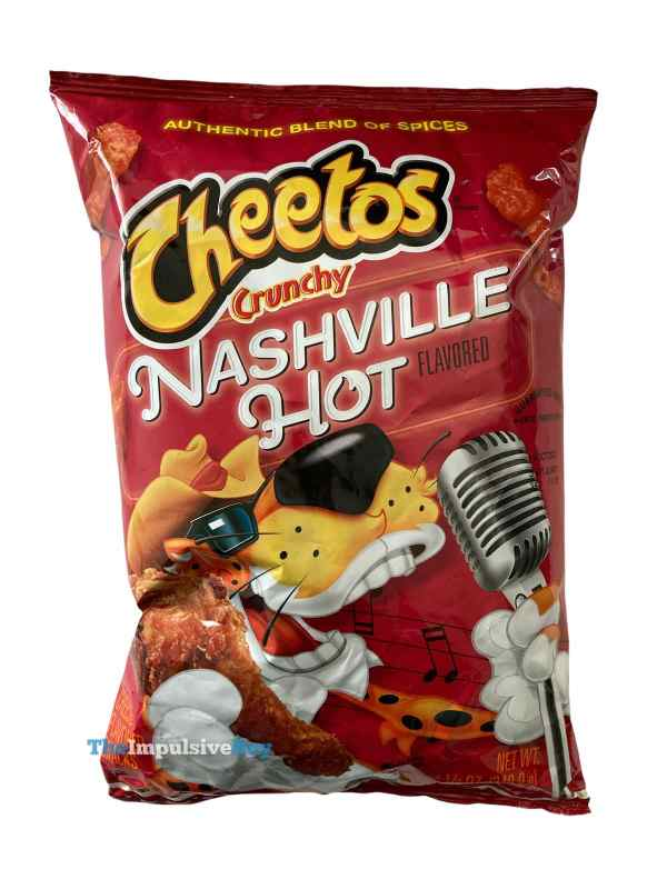 Nashville Hot Cheetos Bag