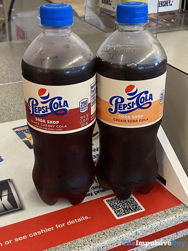 Pepsi Cola Soda Shop Bottles