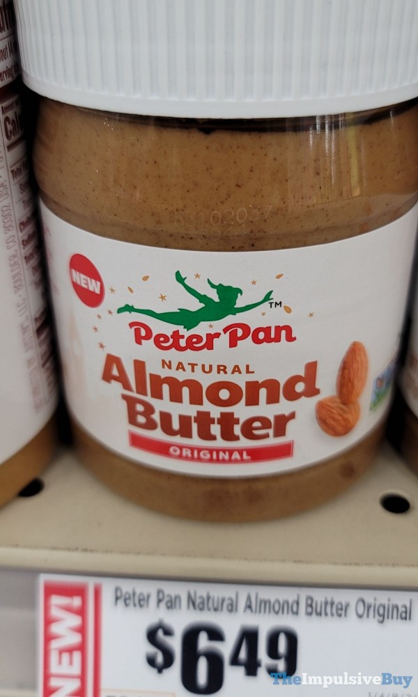 Peter Pan Original Natural Almond Butter