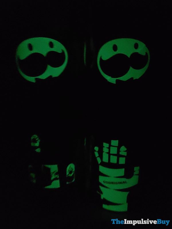 Pringles Halloween Glow in the Dark Cans Dark