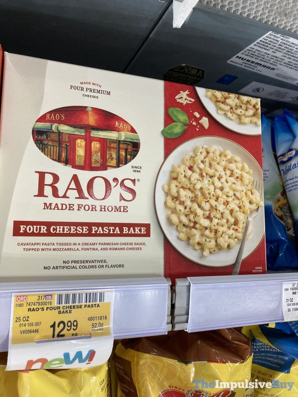 Rao s Four Cheese Pasta Bake