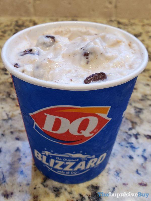Dairy Queen Sea Salt Toffee Fudge Blizzard Cup