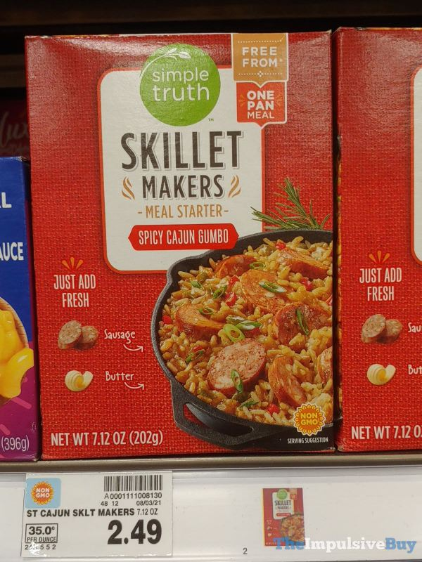 Simple Truth Skillet Makers Meal Starter Spicy Cajun Gumbo