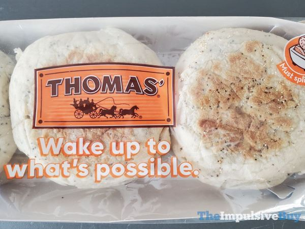 Thomas Limited Edition Everything English Muffins Wrapper