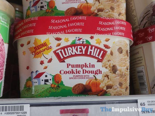 Turkey Hill Seasonal Favorite Pumpkin Cookie Dough Frozen Dairy Dessert