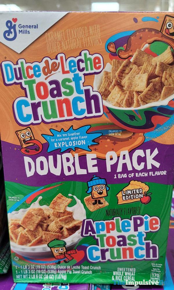 Apple Pie Toast Crunch and Dulce de Leche Toast Crunch Double Pack